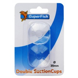 Superfish Double Suction Cups 35mm (2 pcs)
