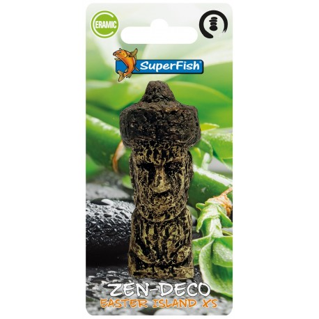 Superfish Zen Deco Easter Island Ornament XS