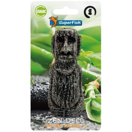 Superfish Zen Deco Easter Island Ornament M
