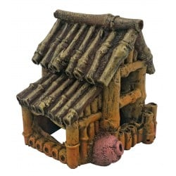 Superfish Bamboo House Small Ornament
