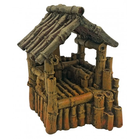 Superfish Bamboo House Medium Ornament