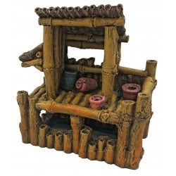Superfish Bamboo House Large Ornament