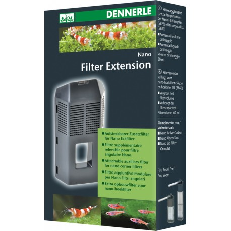 Dennerle Nano Filter Extension Module for Corner Filter and Corner filter XL