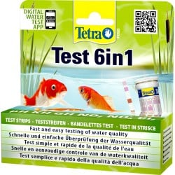 Tetra Pond Test 6in1 Water Test Strips