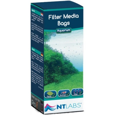 NT Labs Filter Media Bags (2 Bags & Clips)