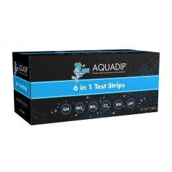 AQUADIP Water Test 6in1 - 50 Test Strips